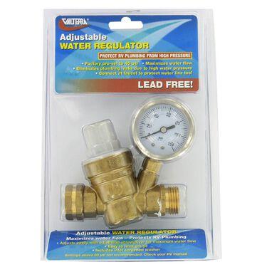 Valterra Lead-Free Brass Adjustable Water Regulator