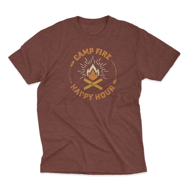 Points North Men's Camp Fire Short Sleeve Tee