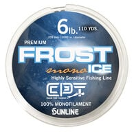 Clam Pro Tackle Frost Ice Monofilament Line, 110 Yards