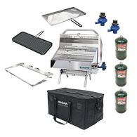 """Padded Grill & Accessory Carrying/Storage Case, Fits up to 12"""" X 18"""""""
