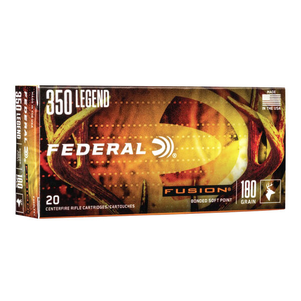 Federal Fusion Rifle Ammunition, 350 Legend