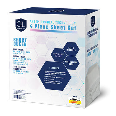 Comfort Lab 4-Piece Sheet Set