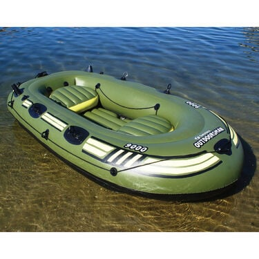 Solstice Outdoorsman 9' Inflatable Fishing Boat