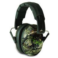Walker's Pro Low Profile Folding Earmuff, Mossy Oak