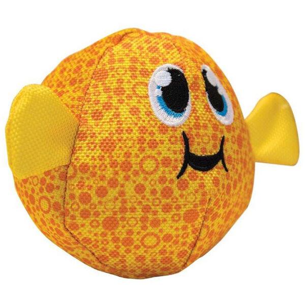 Outward Hound Medium Floatiez Puffer Fish Dog Toy