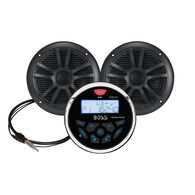 Boss MCKGB350B Weatherproof Digital Media Receiver With Speakers