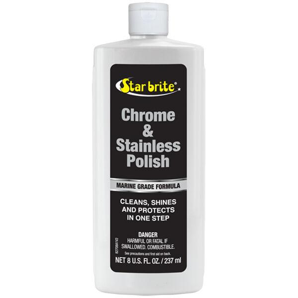 Star Brite Chrome And Stainless Polish, 8 oz.