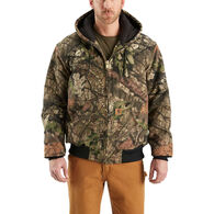 Carhartt Men's Quilted Flannel Camo Active Jacket