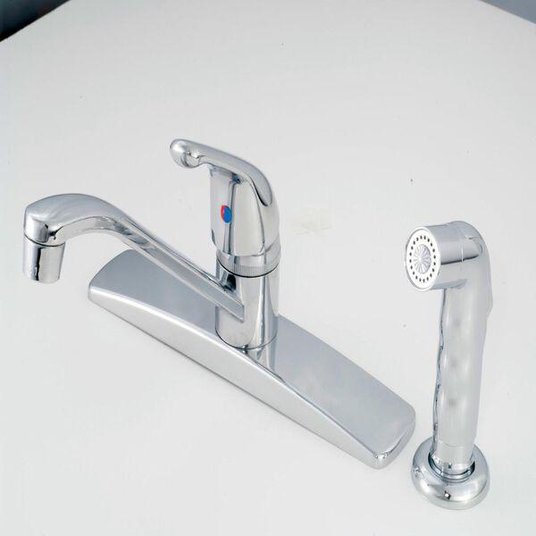 Metal Single Lever Kitchen Faucet, Chrome