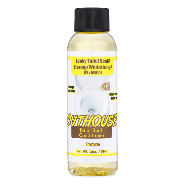 Pure Essence Outhouse Toilet Seal Conditioner, Lemon