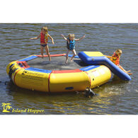 Island Hopper 10' Bounce-N-Splash Bouncer With Slide