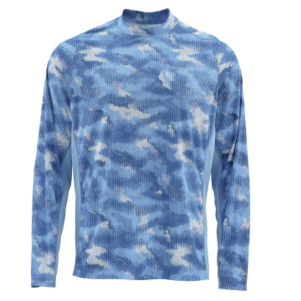 Simms Men's Solarflex Long-Sleeve Crew Neck Shirt