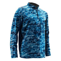 Huk Men's Elements Icon Quarter-Zip Pullover