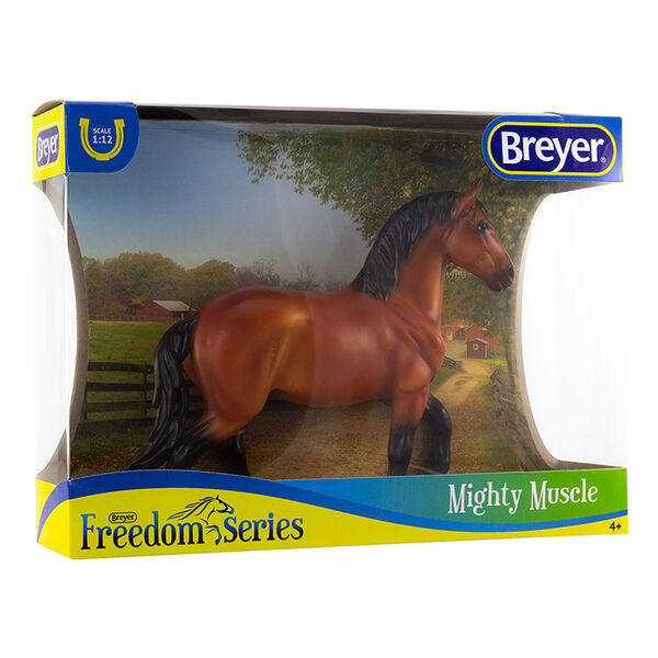 Breyer Mighty Muscle Draft Horse