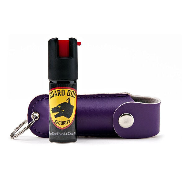 Guard Dog 1/2 Ounce Soft Case Pepper Spray, Purple