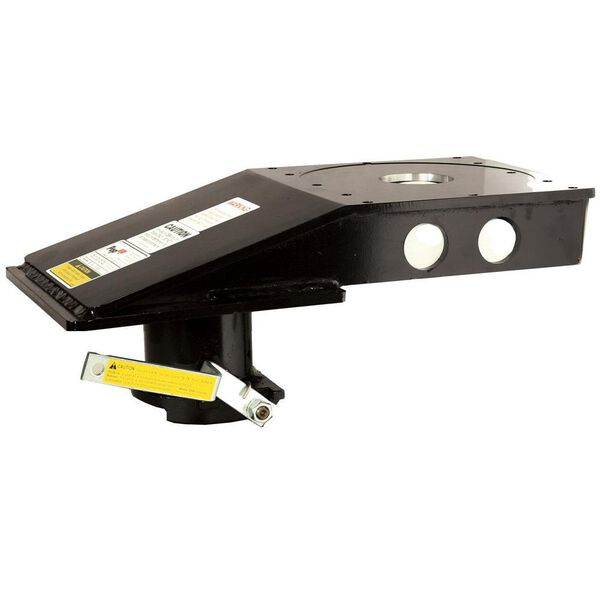 """9"""" Offset 5th Wheel Adapter for Flatbed, 7.5"""" Fixed Height"""