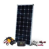 200 Watt Crystalline Solar Panel Kit with 400 Watt Inverter