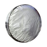 """Diamond Plate Silver Spare Tire Cover, 29"""""""