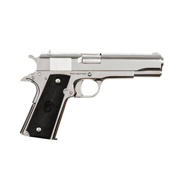 Rock Island Armory M1911 GI Standard FS Nickel Handgun