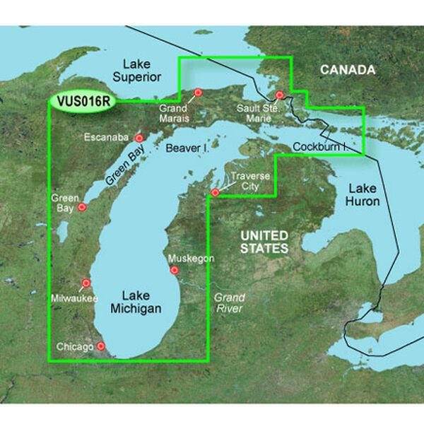 Garmin BlueChart g2 Vision - Lake Michigan