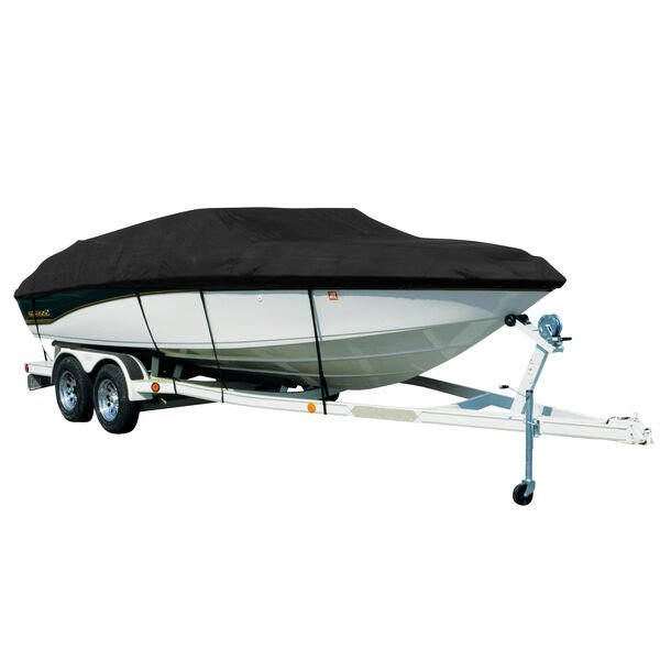 Covermate Sharkskin Plus Exact-Fit Cover for Xpress (Aluma-Weld) H-50   H-50 Dual Console W/Port Mtr Guide Troll Mtr O/B