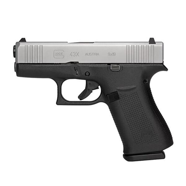 Glock G43X Handgun, 9mm Luger