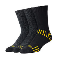 DeWalt Men's Everyday Cotton-Blend Crew Work Socks, 3-Pack