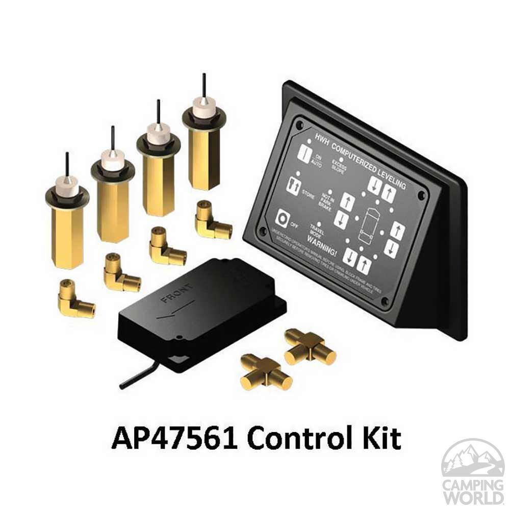 HWH Leveling System 725 for Class A Motorhomes