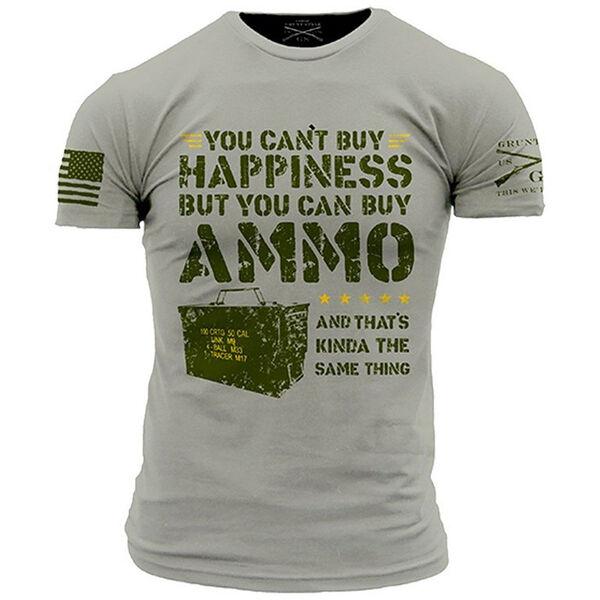 Grunt Style Men's Ammo Is Happiness Short-Sleeve Tee