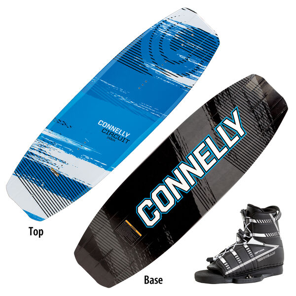 Connelly Circuit Wakeboard With Optima Bindings