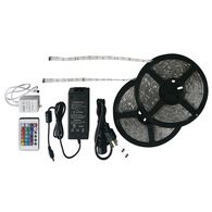 Multicolor LED Light Strip Kit, 33'