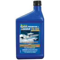 Star Brite Super Premium 2-Cycle TC-W3 Engine Oil, 32 oz.