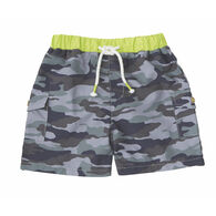 Mud Pie Boys' Camo Swim Trunks
