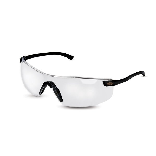 Mossy Oak Coldwater Shooting Glasses, Black/Clear