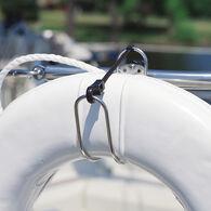 Stainless Steel Life Ring Holder