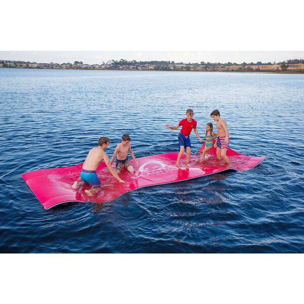 "Overton's Red/White/Blue Splash Island, 18'L x 6'W x 1.25""H"
