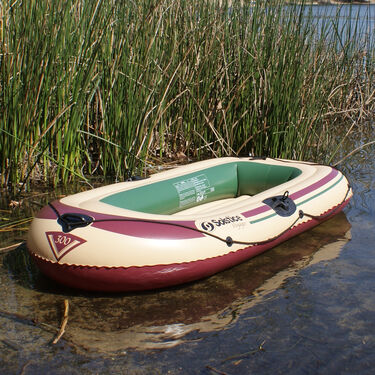 Solstice Voyager 3-Person Inflatable Boat Outfit