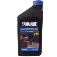 Yamaha Yamalube 2M 2-Stroke Outboard Engine Oil, Quart