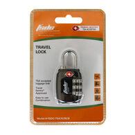 FSDC Resettable 3-Dial Combination Lock w/ Steel Shackle, TSA Accepted, Single Pk.