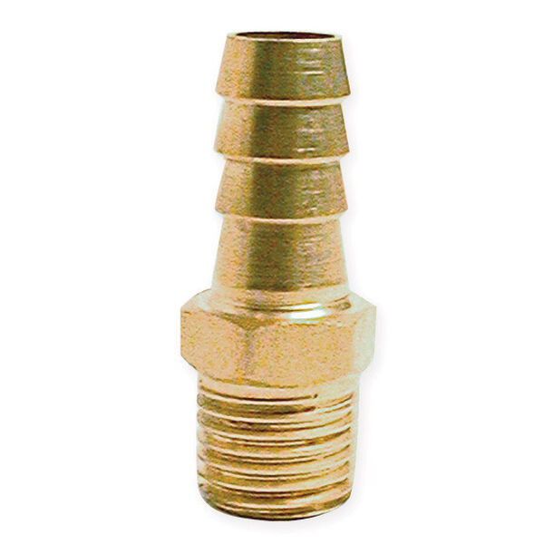 "Fuel Hose Barb Fittings - 5/16"" Male Barb"