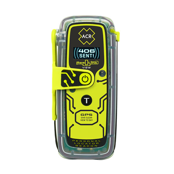 ACR ResQLink View 425 Personal Locator Beacon With Digital Display