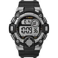Timex Men's A-Game DGTL 50mm Watch, Black/Grey
