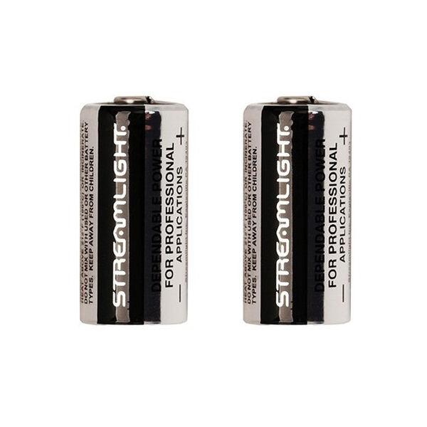 Streamlight CR123 Lithium Battery, 6 Pk.