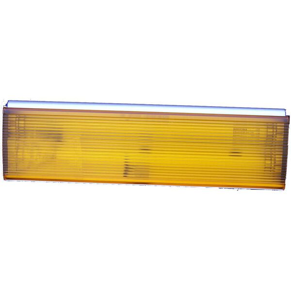 Thin-Lite Weatherproof Outdoor Area Fluorescent Light Fixture #162