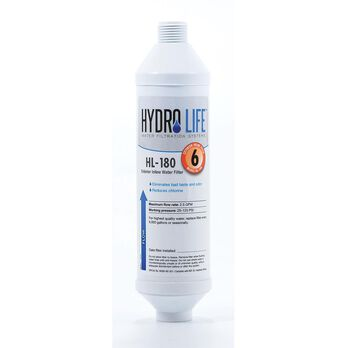 Hydro Life Exterior Hose Water Filter