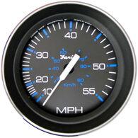 """Faria 4"""" Coral Series Speedometer, 55 MPH"""