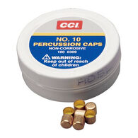 CCI Muzzleloader #10 Percussion Caps and Musket Caps, 100-Count