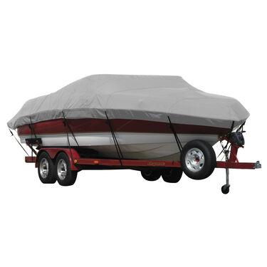 Exact Fit Covermate Sunbrella Boat Cover for Crestliner Rampage 1800 Rampage 1800 No Shield Bimini Stored Aft O/B