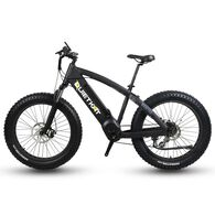 QuietKat 750-ICB Electric Fat-Tire Mountain Bike, Black