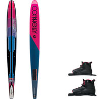 Connelly Women's Concept Slalom Waterski With Double Shadow Bindings